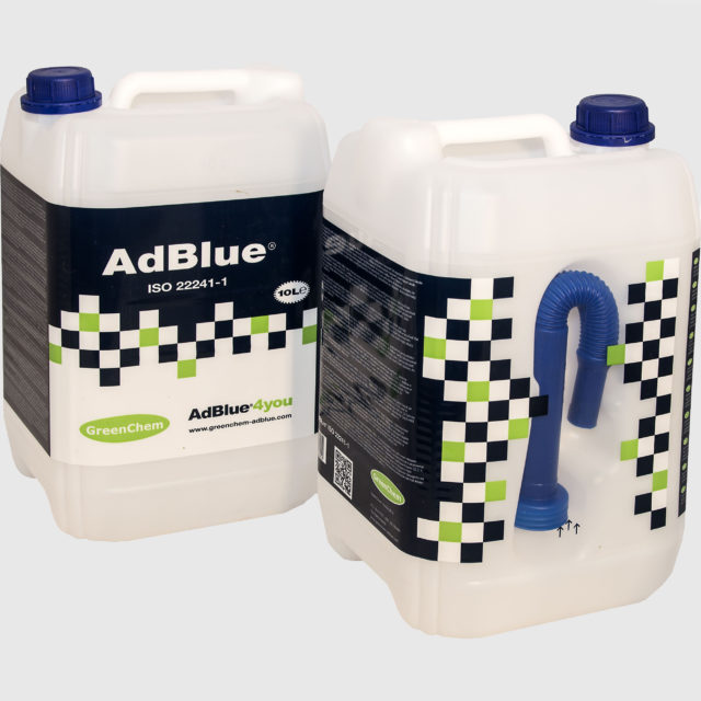 10 liter canister aof GreenChem AdBlue